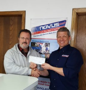 NOVUS® GLASS SPOKANE RAISES $1000 FOR FEED SPOKANE