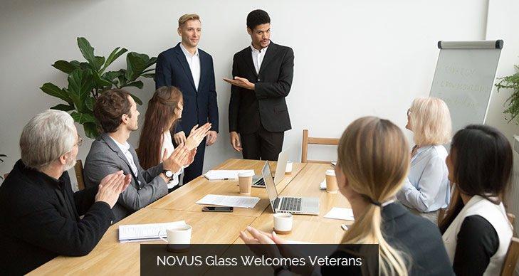 NOVUS Glass Welcomes Veterans
