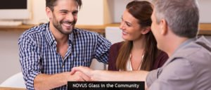 NOVUS Glass in the Community