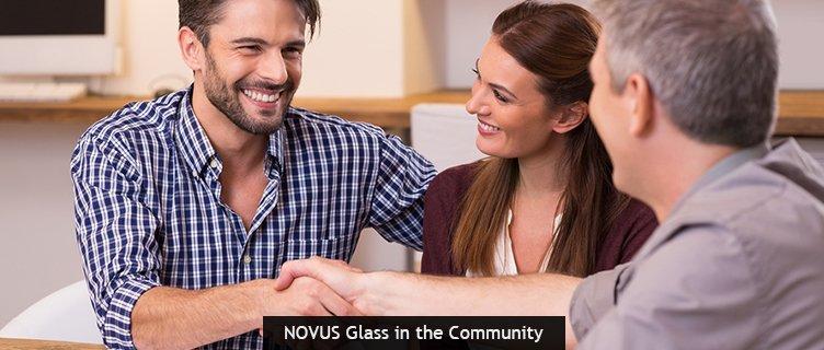 NOVUS Glass in the Community