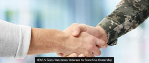 NOVUS Glass Welcomes Veterans to Franchise Ownership