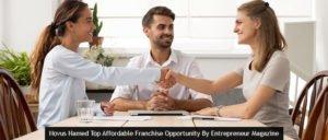 Novus Named Top Affordable Franchise Opportunity By Entrepreneur Magazine